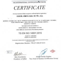 TSE 14001 2015 Egesil