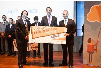 Ege Kimya İTÜ Çekirdek' te 3.lük Özel Ödülüne Sponsor Oldu