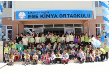 Offical Opening Of Ege Kimya Middle School